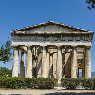 Athenes acropole temple athena