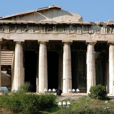 Athenes temple hephaisteion
