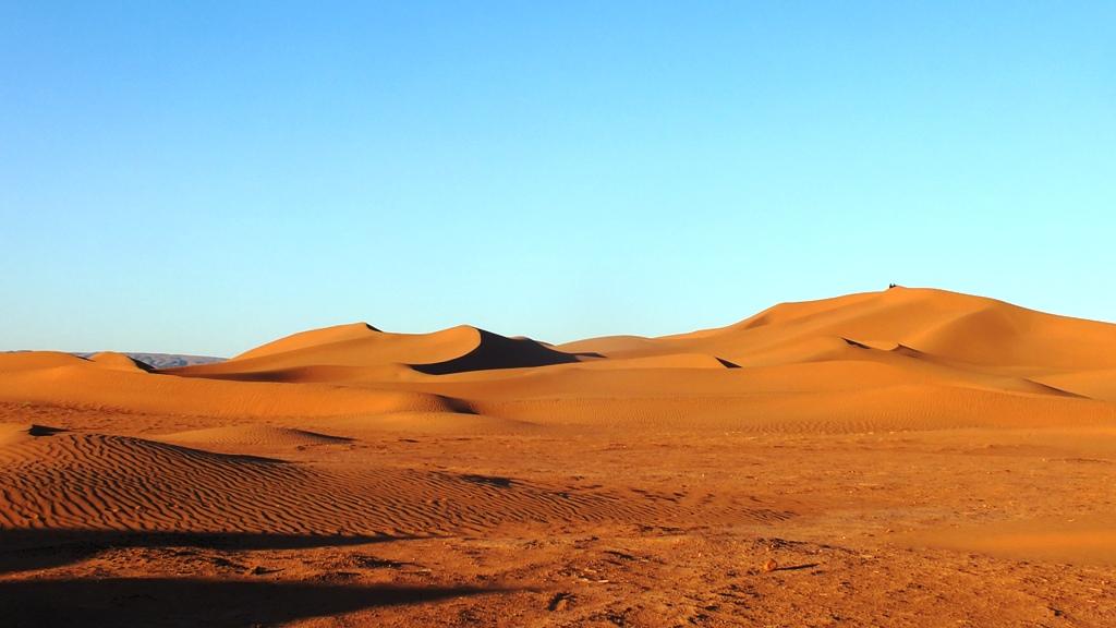 Au somet des dunes