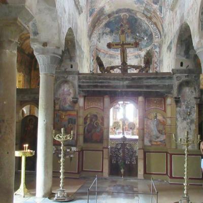 Autel monastere 1