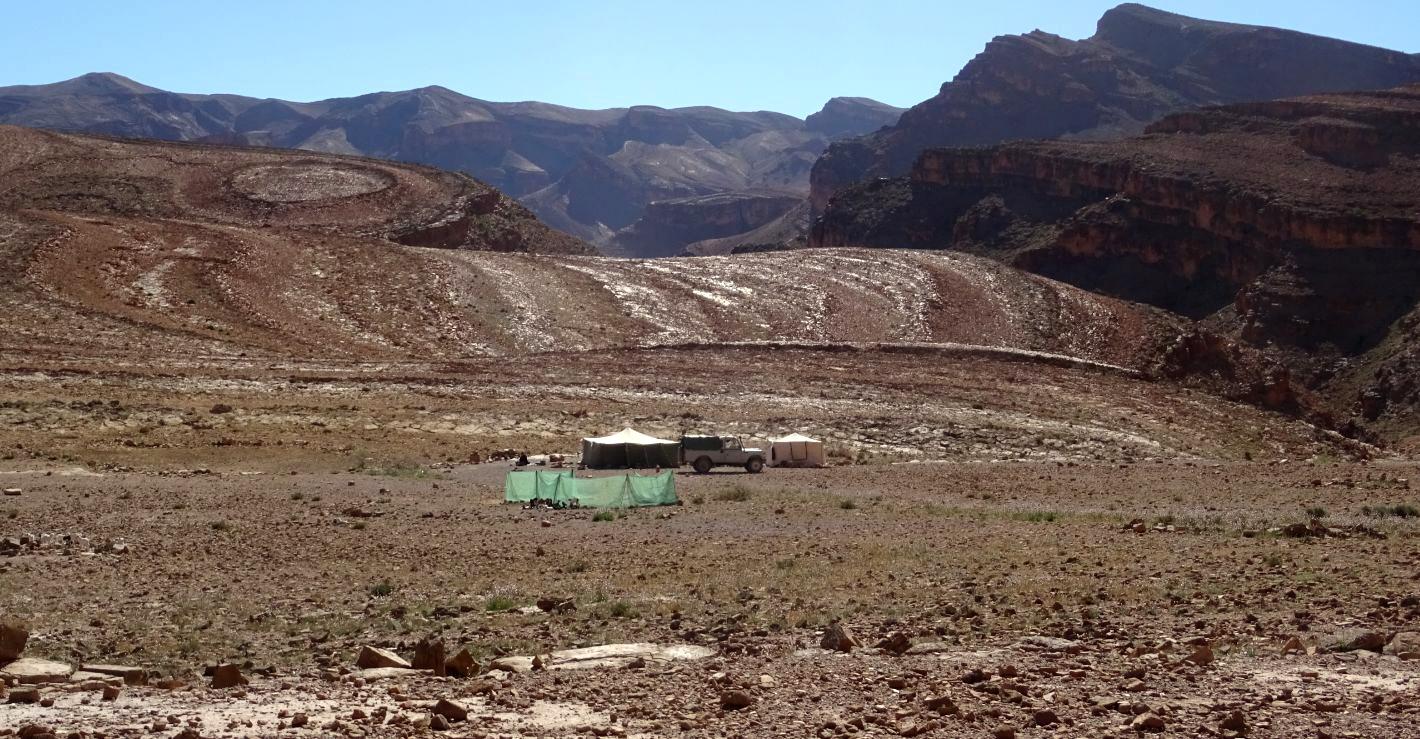 Camp de berberes