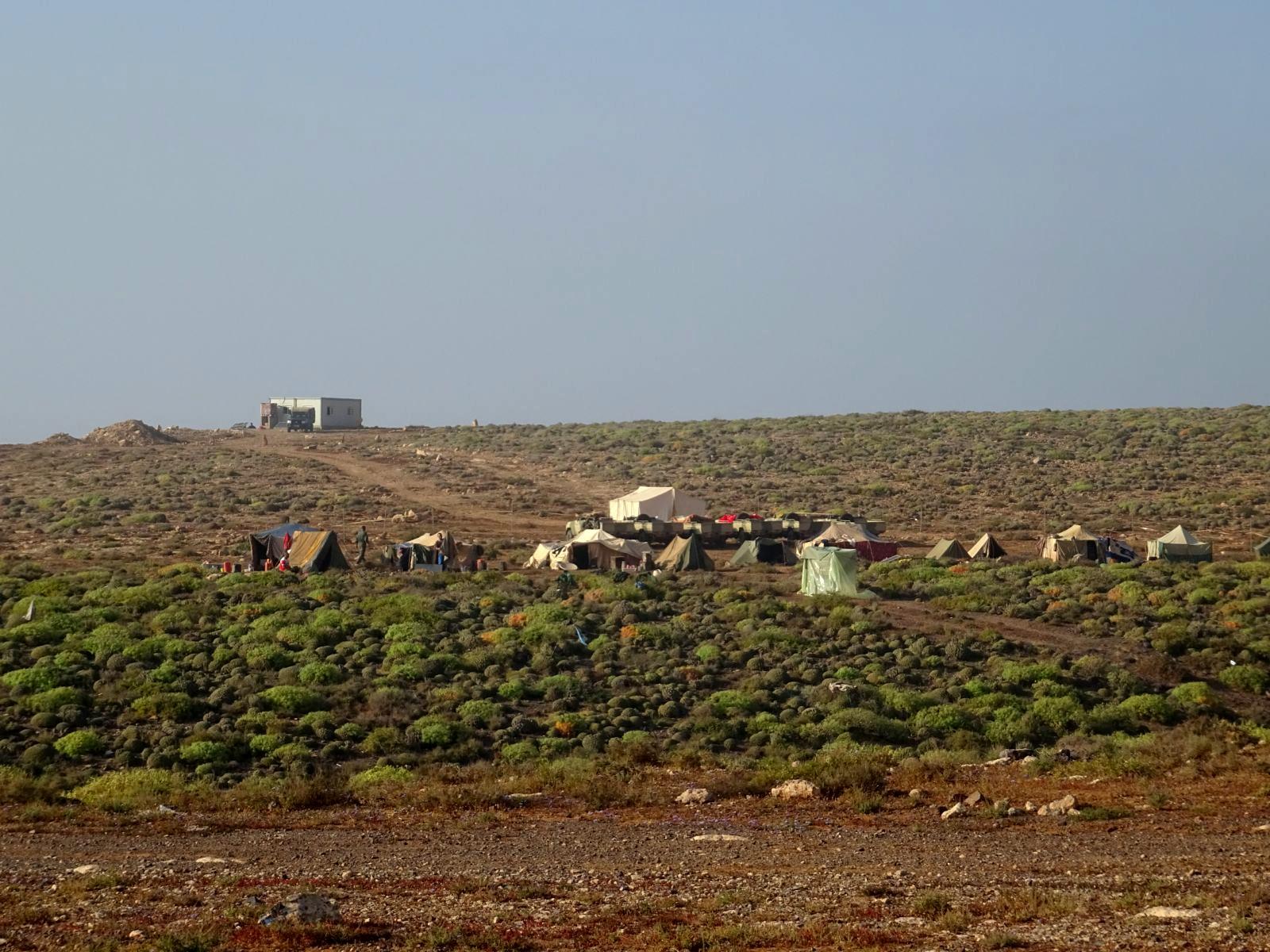 Camp de nomades
