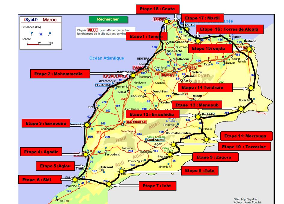 Carte parcours 1