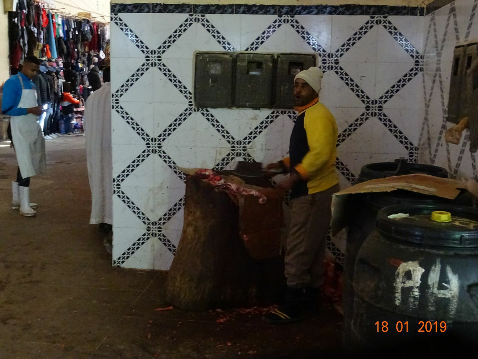 Depecage de la viande