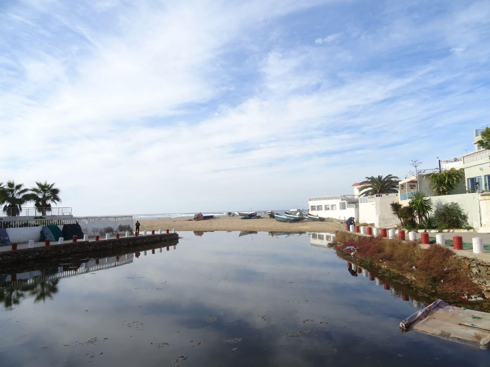 Petit port près de Mohammedia