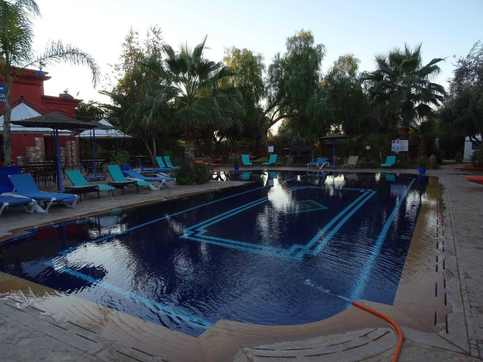 La piscine du camping