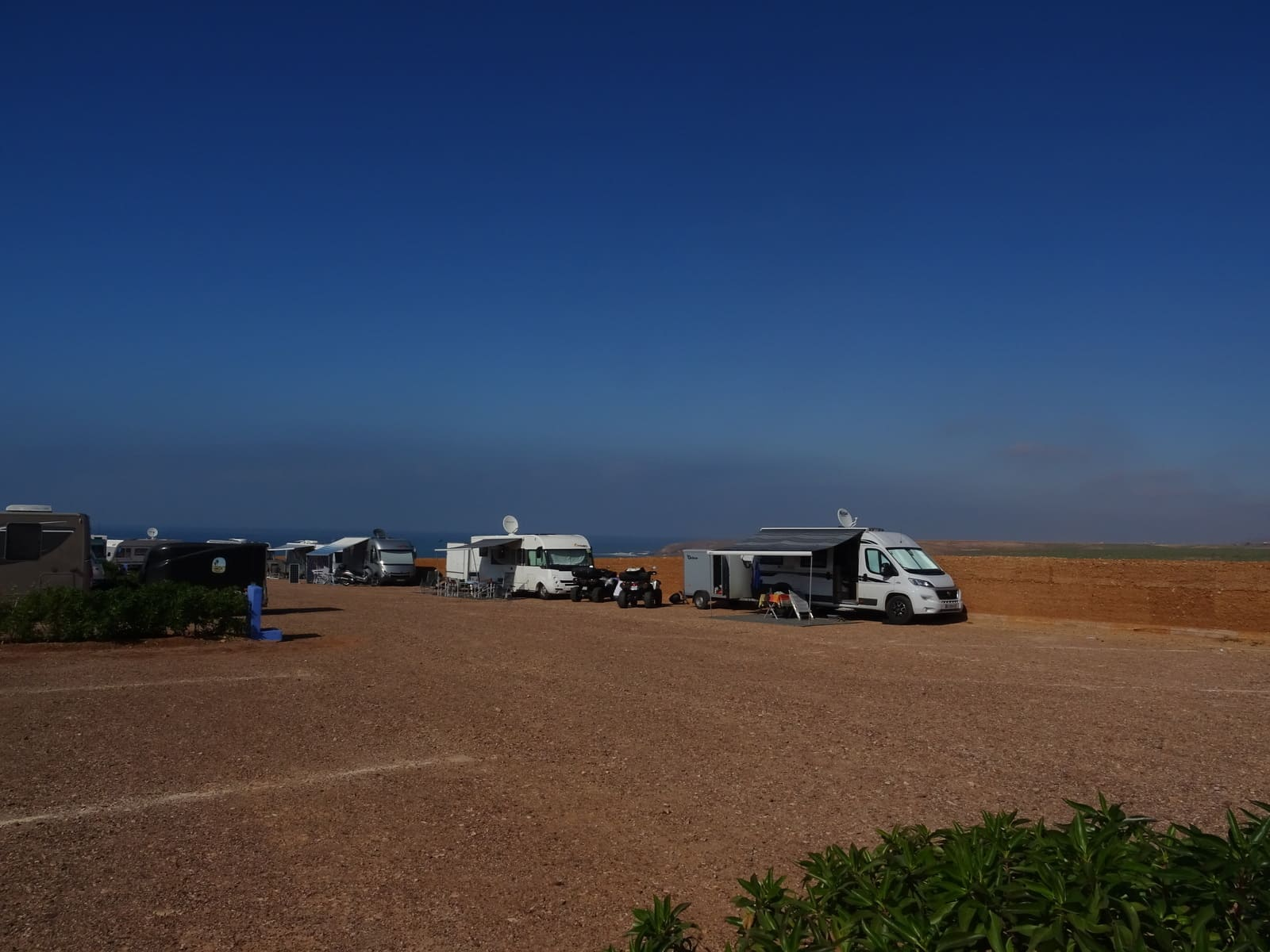 Bel emplacement au camping