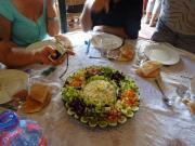 L'entrée : salade Marocaine !!