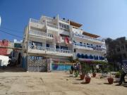 Petit hôtel bord de plage