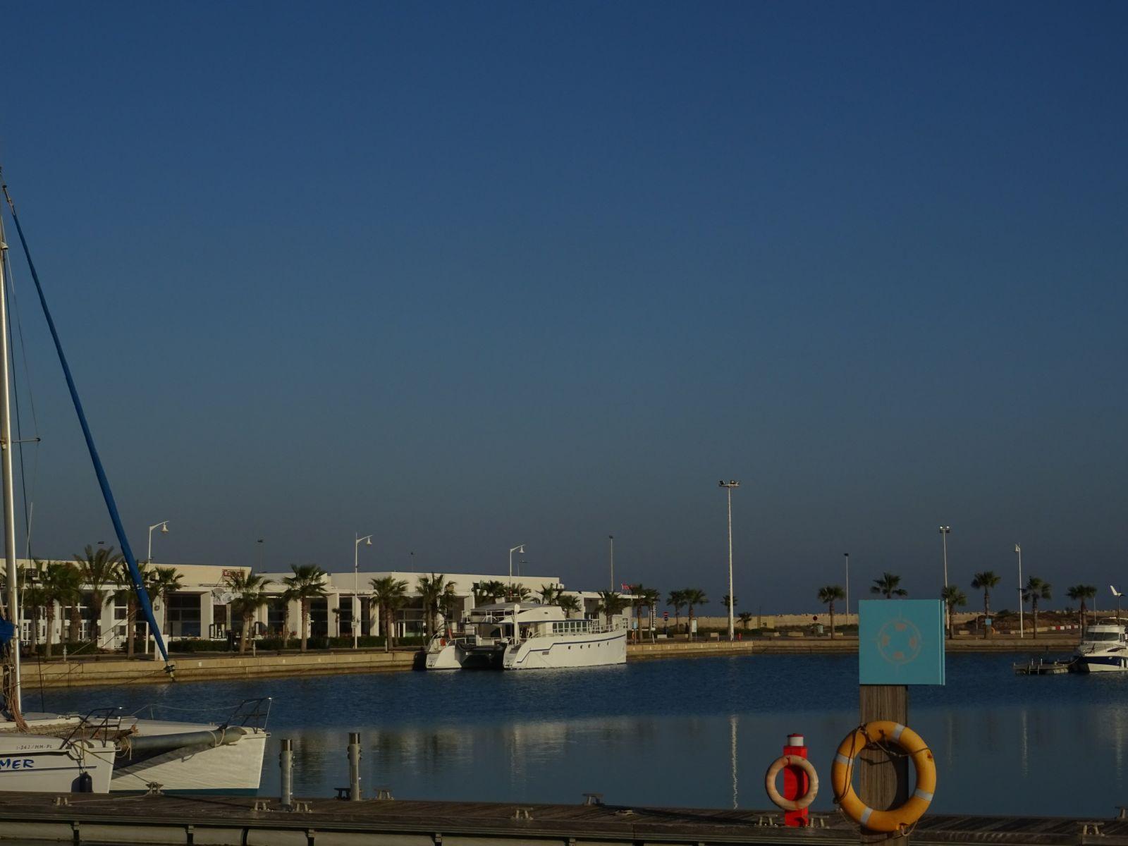 La marina de Saidia