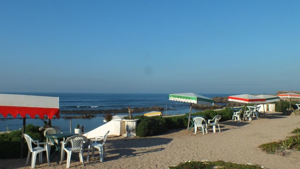 La plage a 20m du camping