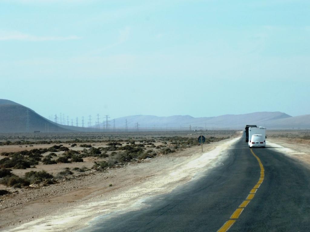 Entrée dans le désert