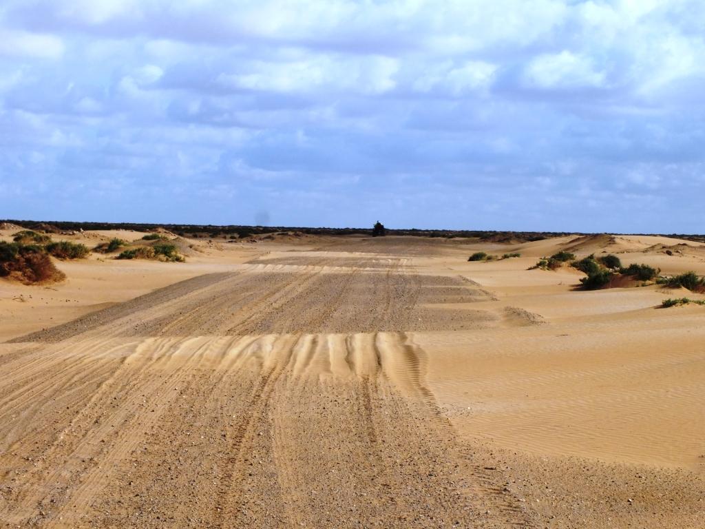 Piste de sable