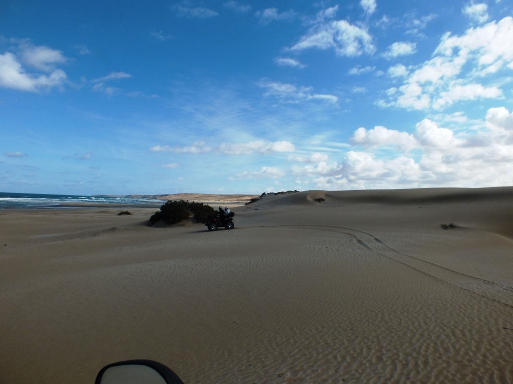 Les plages et dunes