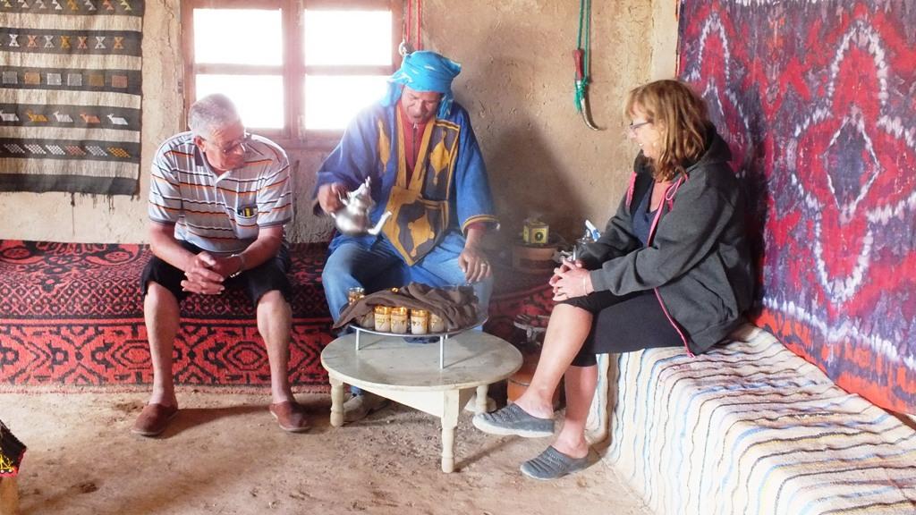L'heure du thé avec Karim