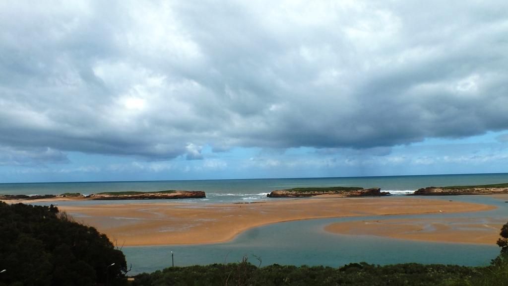 Vue de la plage de Oualidia