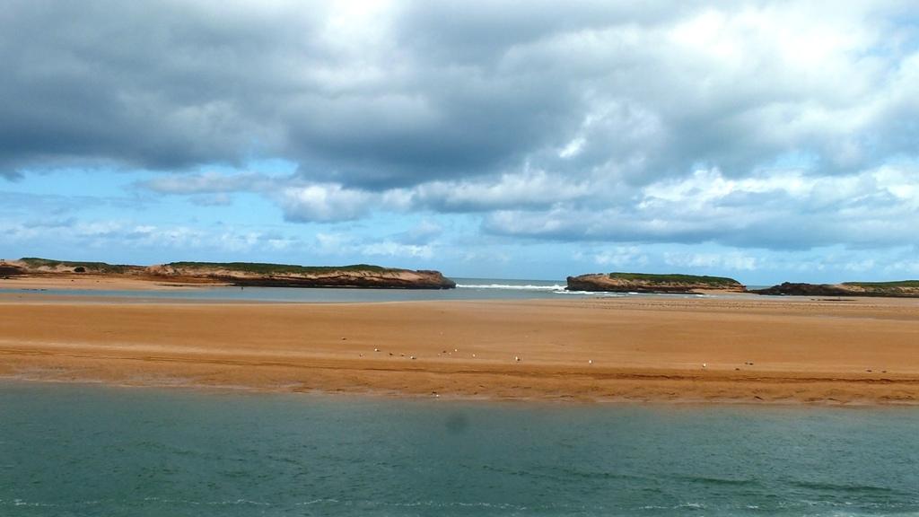 Oualidia ,la plage