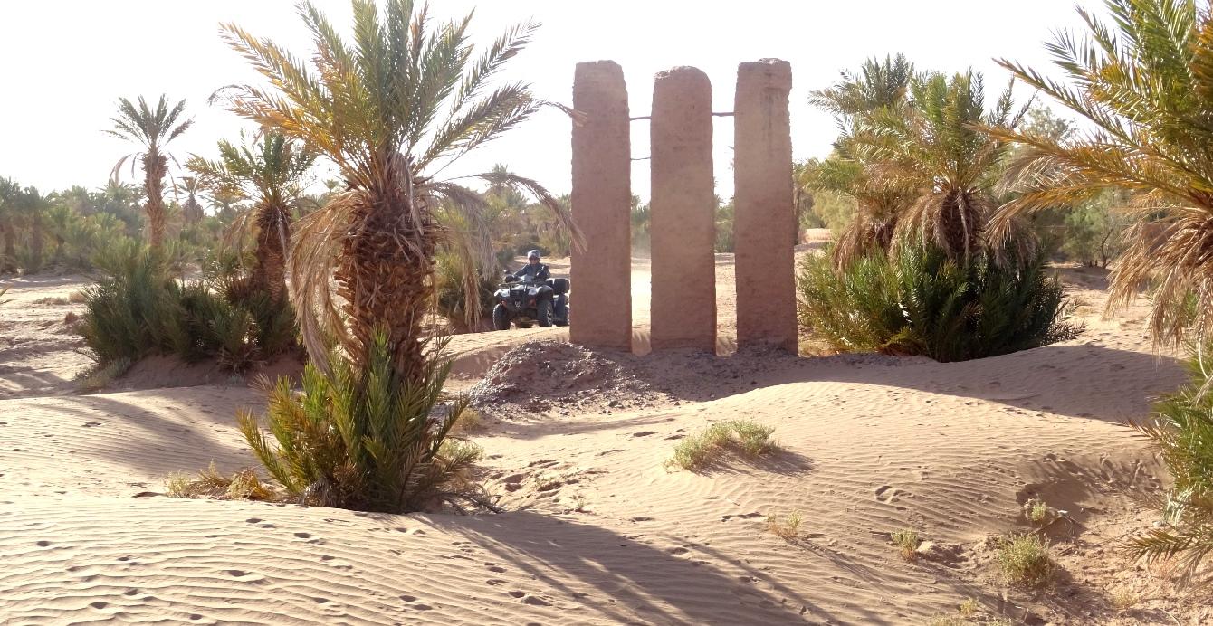 Dunes et vestiges