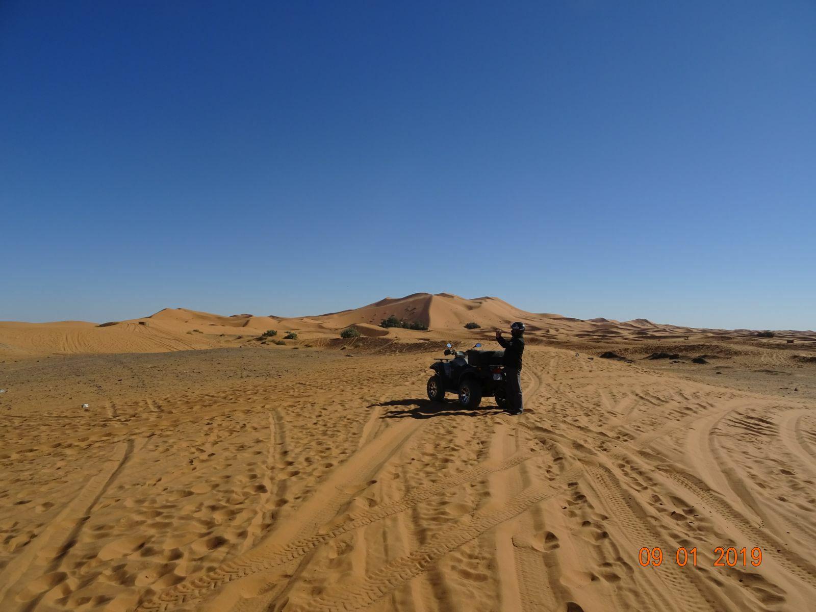 Enfin les dunes de sable