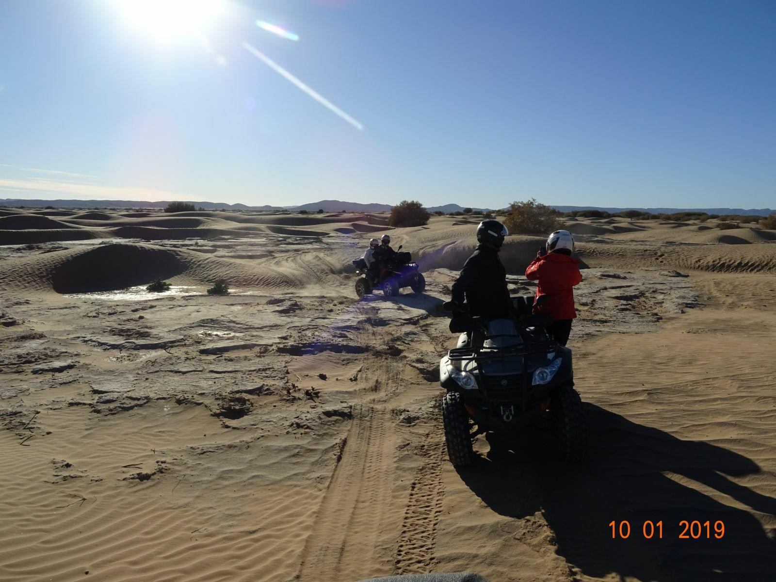 Et toujours du sable