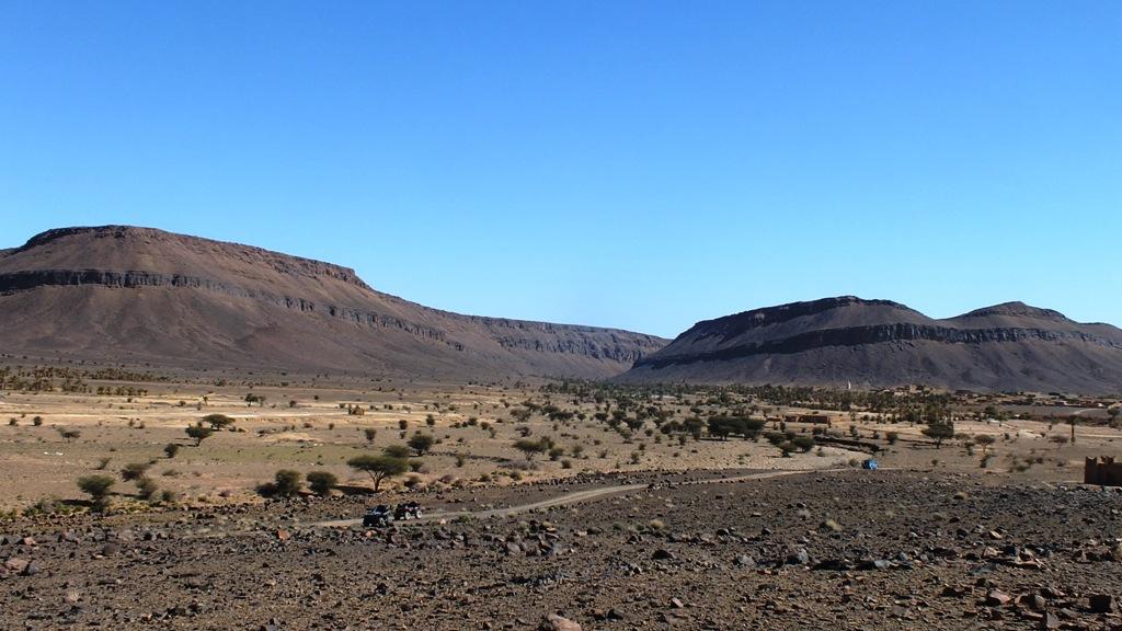 Etendue desertique