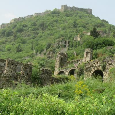 Fortifications et le chateau