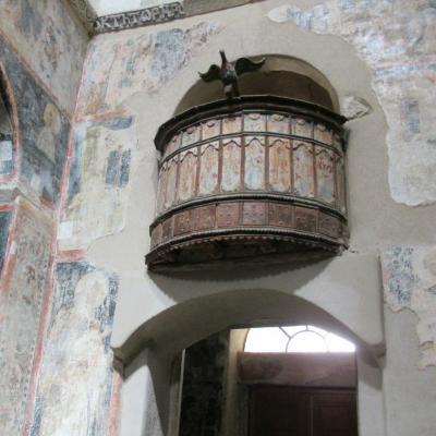 Interieur monastere