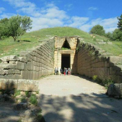 La tombe d agamemnon 4