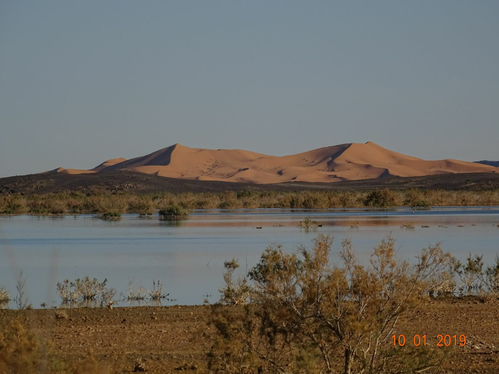 Lac et dunes