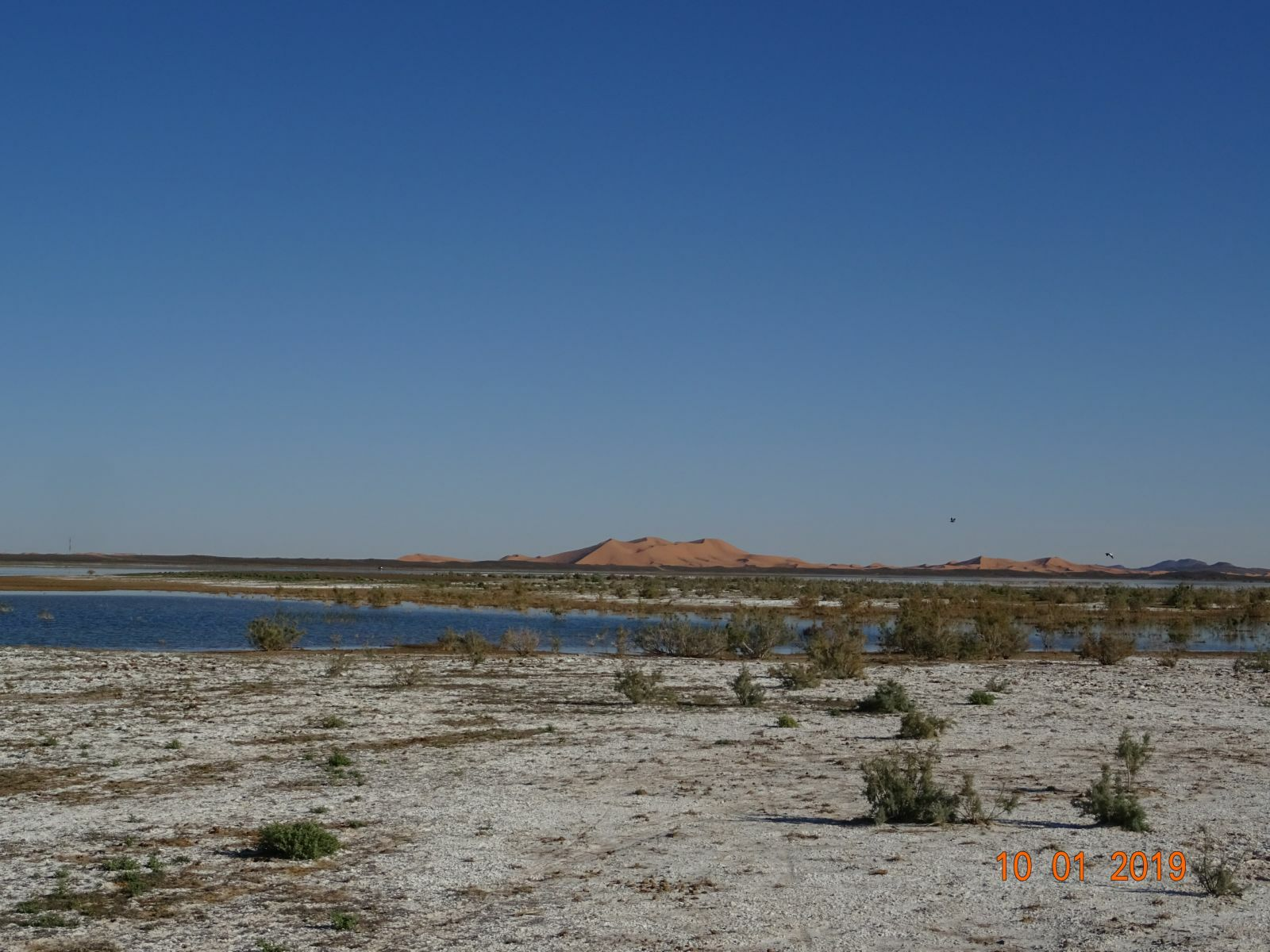 Le lac de merzouga