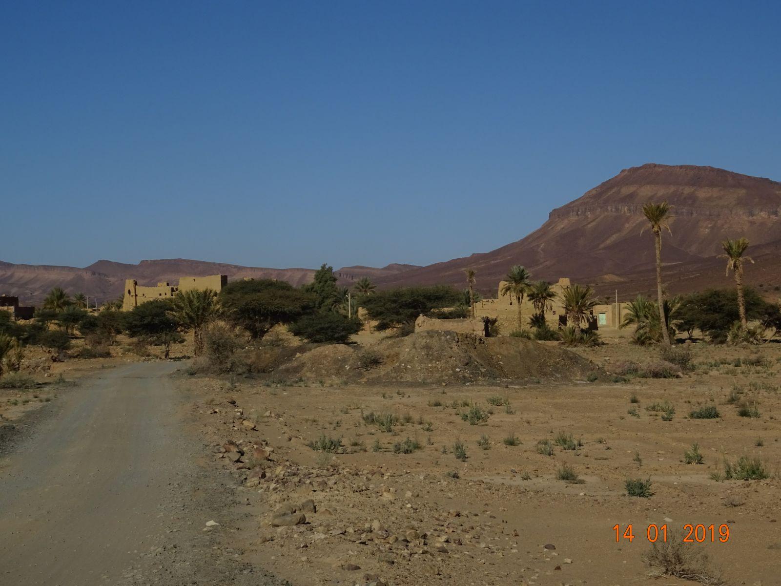 Le village apres le canyon