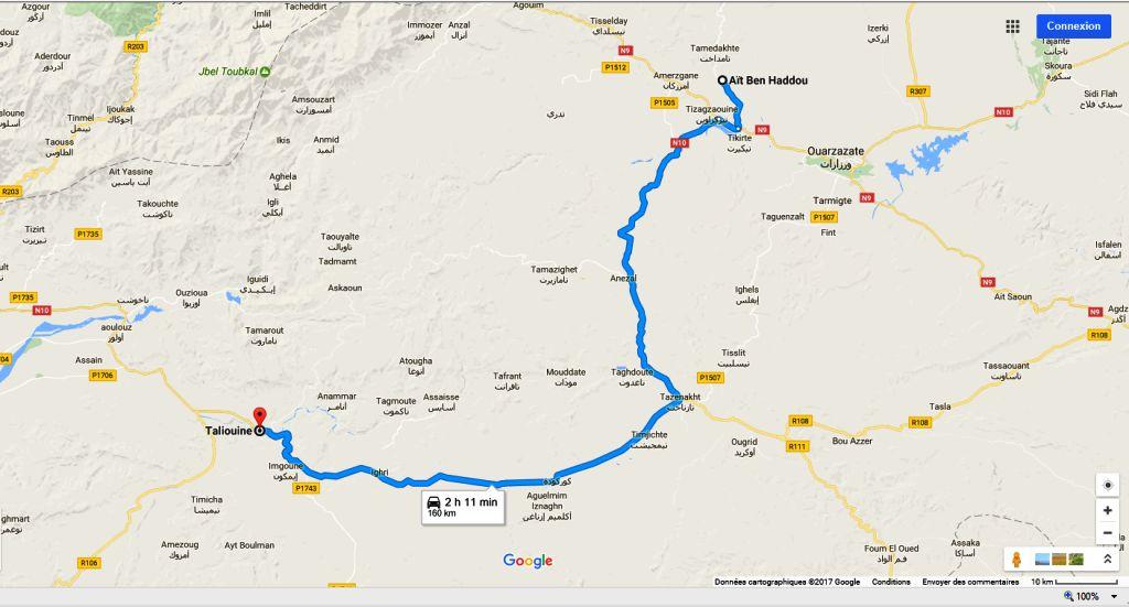 Ouarzazate taliouine