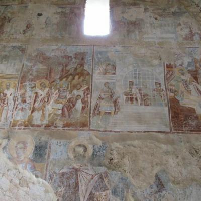 Peinture du monastere