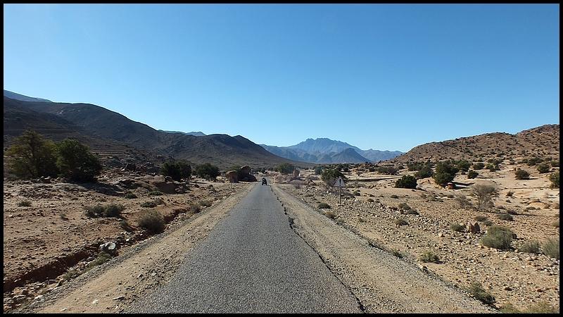 Route desertique