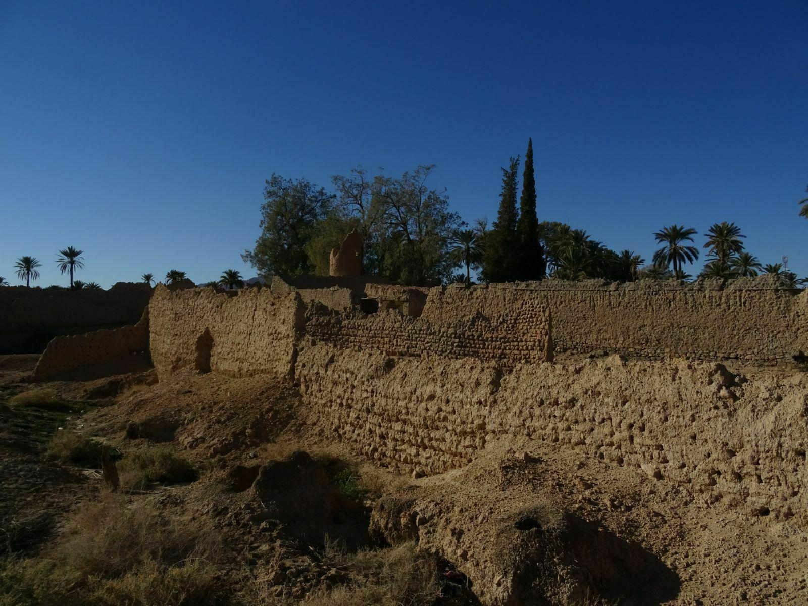 Ruine d un ksar