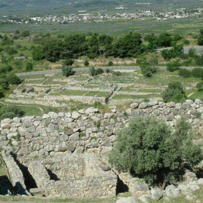 Vestiges du palais d agamemnon 2