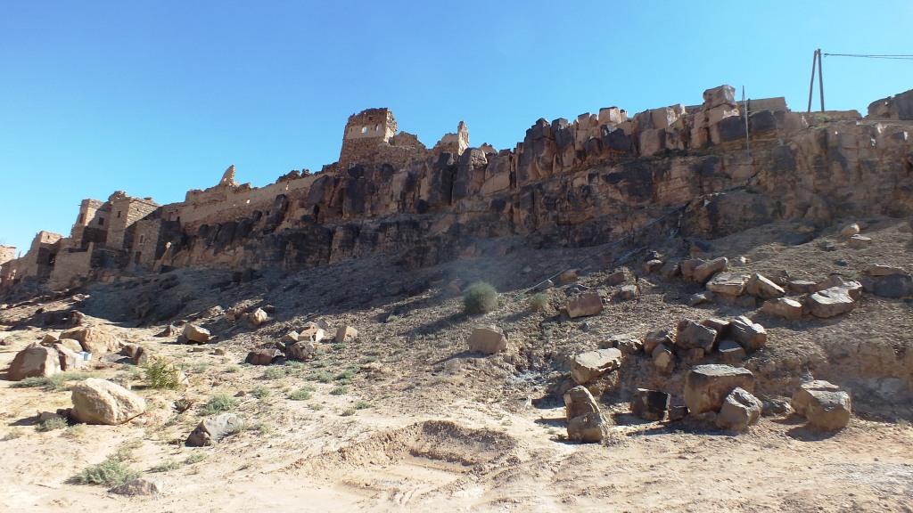 Village dans la pierre